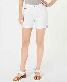 White Denim Shorts, Created for Macy's