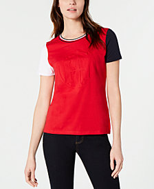 Tommy Hilfiger Embossed Logo T-Shirt, Created for Macy's