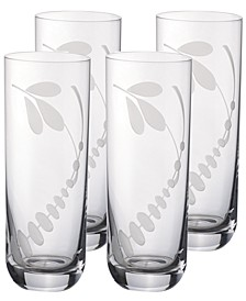Old Luxembourg Brindille Highball Tumbler, Set of 4