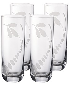 Villeroy & Boch Old Luxembourg Brindille Highball Tumbler, Set of 4