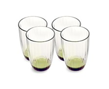 Villeroy & Boch Artesano Nature Green Small Tumbler, Set of 4