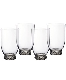 Villeroy & Boch Montauk Sand Highball Tumbler, Set of 4