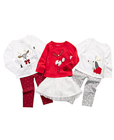 First Impressions Toddler Girls Holiday Mix & Match Separates, Created for Macy's