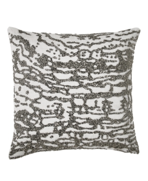 Image of Donna Karan Collection Luna Beaded Decorative Pillow Bedding