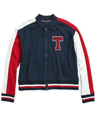 Tommy Hilfiger Women S Brickell Bomber Jacket From The Adaptive