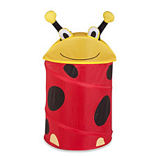 Honey Can Do Lady Bug Pop-up Hamper