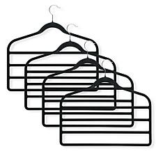 4-Pk.Velvet Touch Hangers