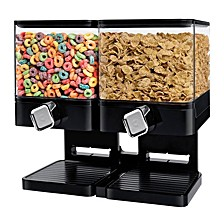 Zevro by Compact Edition 17.5-Oz. Double Cereal Dispenser