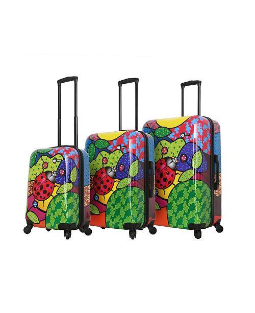 Mia Toro ITALY Allegra Pop Ladybug 3-Pc. Luggage Set