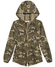 654c25227 Epic Threads Big Girls Hooded Cotton Camouflage Jacket, Created for Macy's