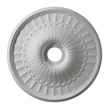 "Hillspire Medallion 24"" In White Finish"