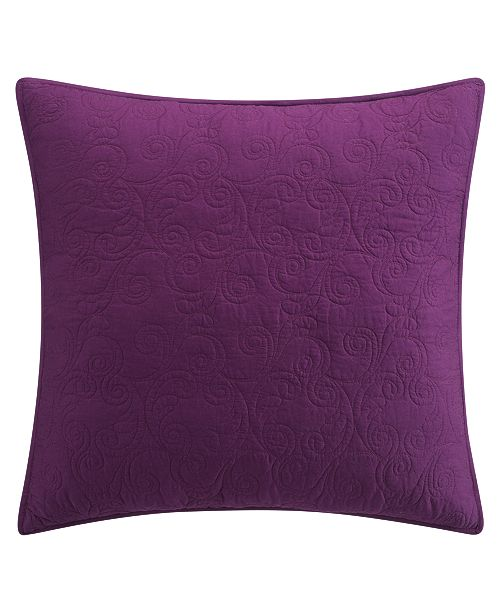 Tracy Porter Scroll Quilted Euro Sham
