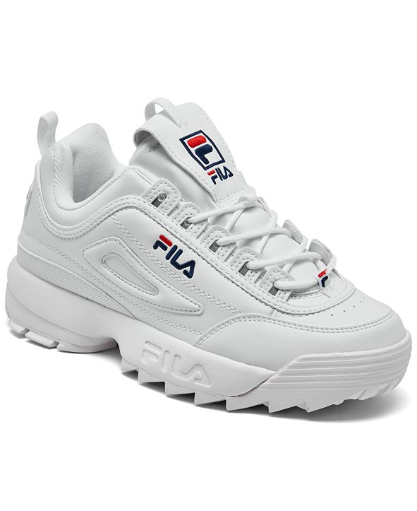 Fila Big Kids Disruptor II Casual Athletic Sneakers from Finish Line