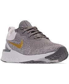 Nike Women's Odyssey React Metallic Premium Running Sneakers from Finish Line