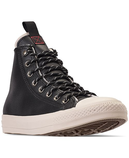 17500e854c5aa5 ... Converse Men s Jack Purcell Desert Storm Leather Hi Casual Sneakers  from Finish ...