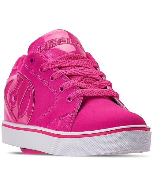 Girls Vopel Wheeled Skate Casual Sneakers From Finish Line