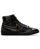 the best attitude 046d9 bdc2a Nike Women s Blazer Mid Metallic Casual Sneakers from Finish Line