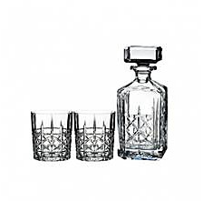 Marquis by Waterford Brady Decanter and Double Old Fashion Pair