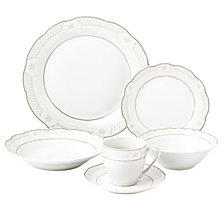 Lorren Home Trends Atara 24-Pc. Dinnerware Set, Service for 4