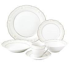 Lorren Home Trends Atara 24-Pc. Dinnerware Set, Service for 4