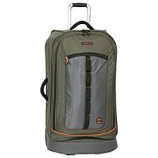 "Jay Peak Olive 30"" Wheeled Duffel Bag"