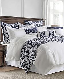 Kavali Linen 4-Pc Queen Comforter Set