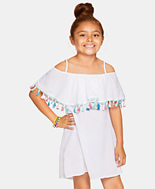 Summer Crush Big Girls Crinkle Cover-Up