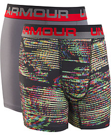 Under Armour Big Boys 2-Pack Boxerjocks