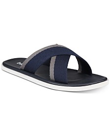 Bar III Men's Cliff Cross Sandals, Created for Macy's