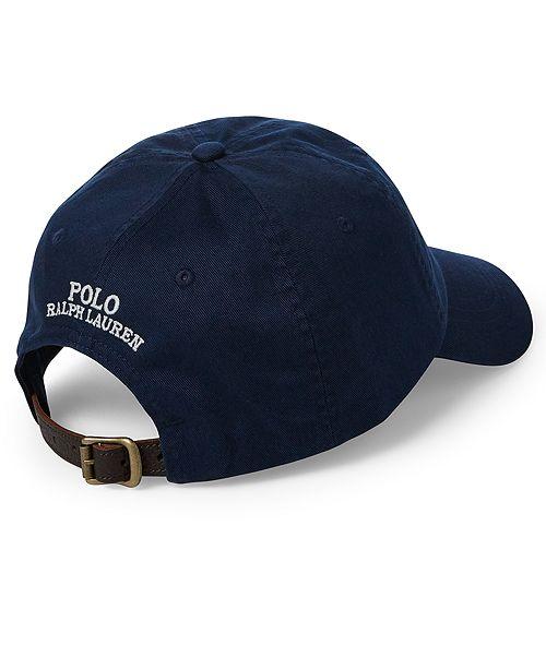 Polo Ralph Lauren Men s Polo Bear Baseball Cap 08897cf26a84