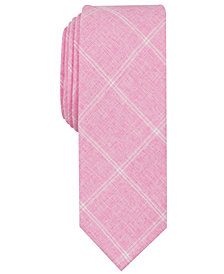 Original Penguin Men's Morton Skinny Grid Tie