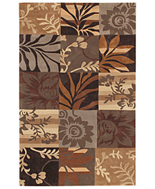 "Surya Cosmopolitan COS-8817 Dark Brown 3'6"" x 5'6"" Area Rug"