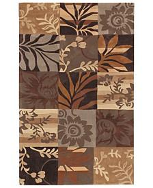Surya Cosmopolitan COS-8817 Dark Brown 8' x 11' Area Rug