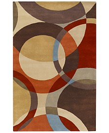 Surya Forum FM-7108 Tan 6' x 9' Area Rug
