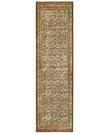 "Surya Paramount PAR-1076 Dark Brown 2'2"" x 7'6"" Runner Area Rug"