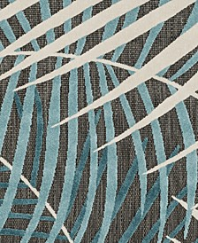 "Portera PRT-1062 Teal 18"" Square Swatch"