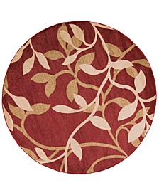 Riley RLY-5011 Tan 8' Round Area Rug