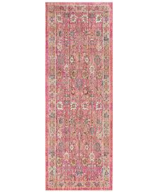"Surya Germili GER-2326 Bright Pink 2'11"" x 7'10"" Runner Area Rug"