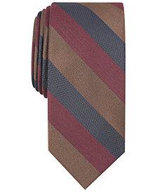 Tallia Men's Odell Stripe Slim Tie