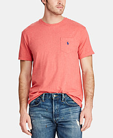 Polo Ralph Lauren Men's Classic Fit Pocket Cotton T-Shirt
