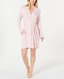 UGG® Aldridge Mini-Striped Knit Wrap Robe
