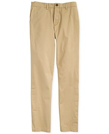 Men's Custom Fit Chino Pants with Magnetic Zipper