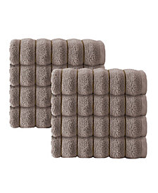 Enchante Home Vague 8-Pc. Hand Towels Turkish Cotton Towel Set
