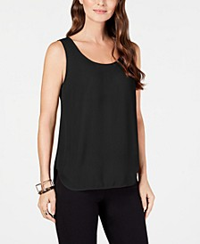 Petite Scoop-Neck Sleeveless Top, Created for Macy's