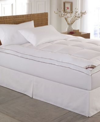 Home Gallery 100% Cotton-Top 2 Inch Gusseted King Mattress Pad