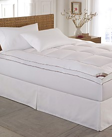 Kathy Ireland Home Gallery Cotton-Top 2 Inch Gusseted Mattress Pad Collection