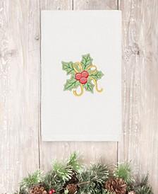 Christmas Holly Bunch 100% Turkish Cotton Hand Towel