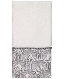 Deco Shells Fingertip Towel
