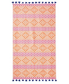 John Robshaw Ramya 100% Cotton Beach Towel
