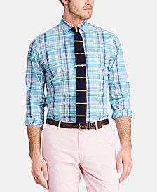Polo Ralph Lauren Men's Classic-Fit Stretch Poplin Shirt, Regular and Big & Tall